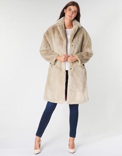 Abbigliamento Donna Cappotti Guess SHELLY Beige