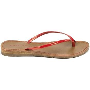 Scarpe Donna Sandali Chattawak sandales 7-RIADE Rouge Rosso