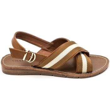 Scarpe Donna Sandali Chattawak sandales 7-TIFFANY Camel Marrone