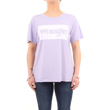 Abbigliamento Donna Top / T-shirt senza maniche Wrangler w7016di Lilla