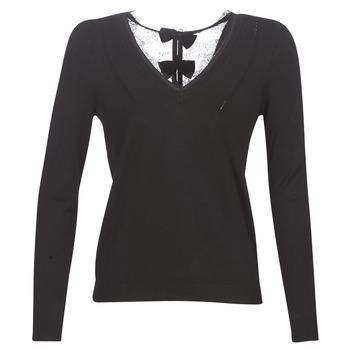 Abbigliamento Donna Maglioni Naf Naf MITOU LONG NEW Nero