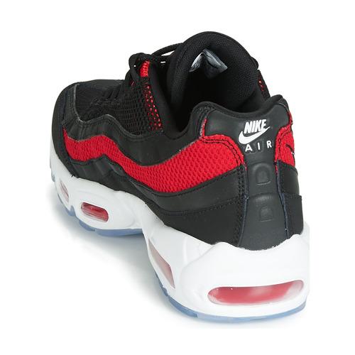 Nike 95 17000 Air Max Basse NeroRosso Consegna Scarpe Sneakers Uomo Gratuita eDHWE9I2Y