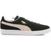 Scarpe Donna Sneakers basse Puma Sneakers Donna Classic Black-White Suede 352634-03 nero, bianco