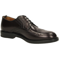 Scarpe Uomo Derby Rossi VITELLO CALF bordo-bordeaux