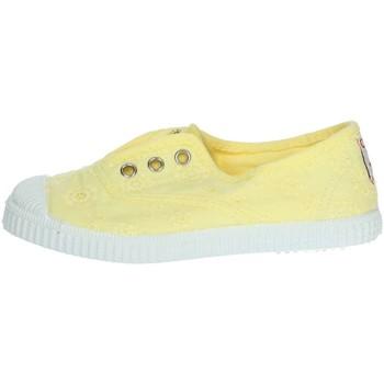 Scarpe Bambina Sneakers basse Cienta 70998 GIALLO