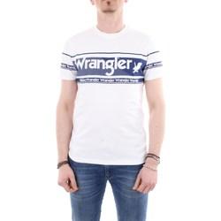 Abbigliamento Donna T-shirt maniche corte Wrangler W7C17DB Bianco