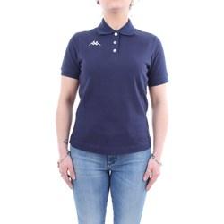 Abbigliamento Donna Polo maniche corte Kappa 302b3c0 Blu