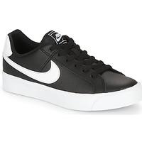 Scarpe Donna Sneakers basse Nike COURT ROYALE AC W Nero / Bianco