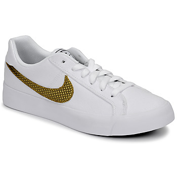 Scarpe Donna Sneakers basse Nike COURT ROYALE AC SE W Bianco / Dore