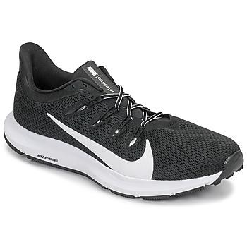 Scarpe Uomo Running / Trail Nike QUEST 2 Nero / Bianco