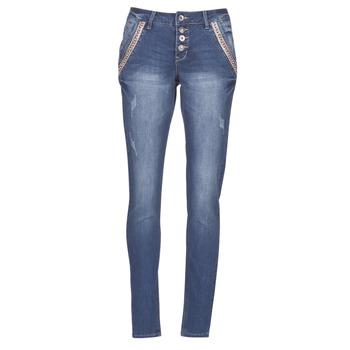 Abbigliamento Donna Jeans dritti Cream DICTE Blu