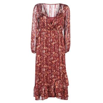 Abbigliamento Donna Abiti lunghi Cream NILA Rosso