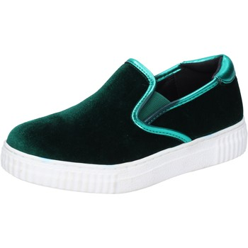 Scarpe Donna Slip on Francescomilano slip on velluto verde