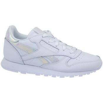 Scarpe Unisex bambino Sneakers basse Reebok Sport Classic Leather Bianco