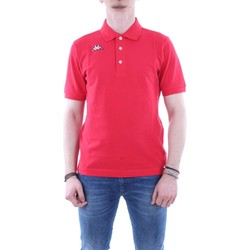 Abbigliamento Uomo Polo maniche corte Kappa 302b3d0 Rosso