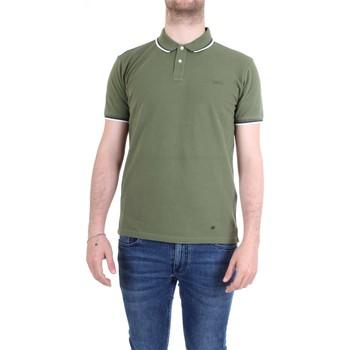 Abbigliamento Uomo Polo maniche corte Woolrich WOPOL0522 Polo Uomo Verde Verde