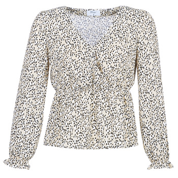 Abbigliamento Donna Top / Blusa Betty London LOVA Beige / Nero