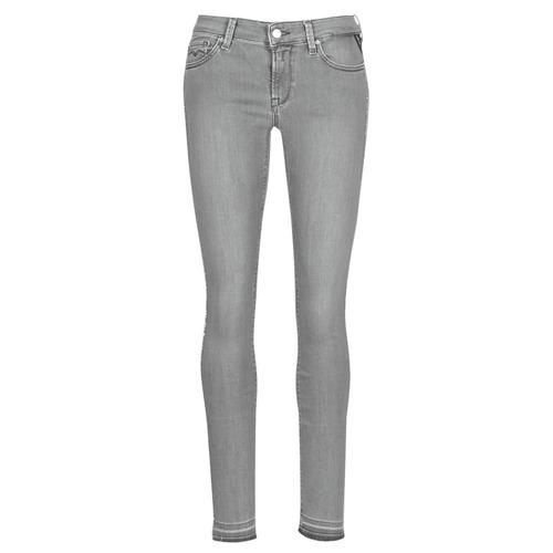 Abbigliamento Donna Jeans slim Replay LUZ Grigio