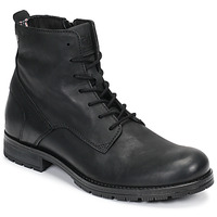 Scarpe Uomo Stivaletti Jack & Jones JFW ORCA LEATHER Nero