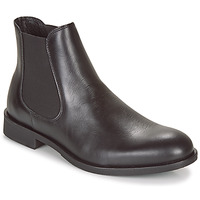 Scarpe Uomo Stivaletti Selected LOUIS LEATHER CHELSEA Nero