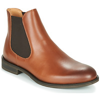Scarpe Uomo Stivaletti Selected LOUIS LEATHER CHELSEA Cognac
