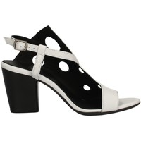 Scarpe Donna Sandali Bueno Shoes L3704 BIANCO
