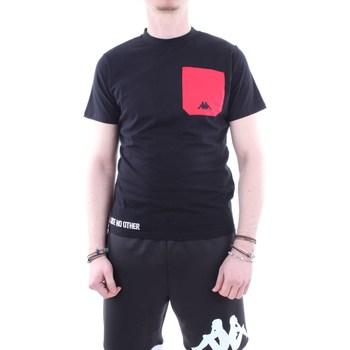 Abbigliamento Uomo T-shirt maniche corte Kappa 304ici0 Nero