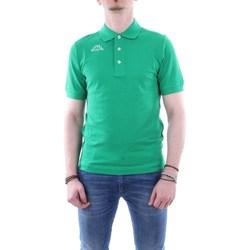 Abbigliamento Uomo Polo maniche corte Kappa 302s1u0 Verde