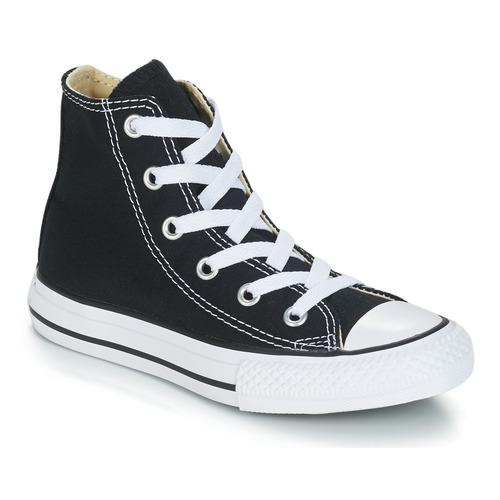 Scarpe Bambino Sneakers alte Converse CHUCK TAYLOR ALL STAR CORE HI Nero