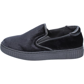 Scarpe Donna Slip on Francescomilano slip on velluto nero