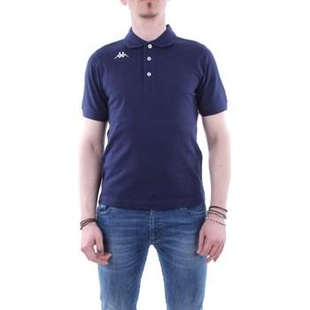 Abbigliamento Uomo Polo maniche corte Kappa 302b3d0 Blu