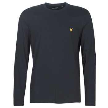 Abbigliamento Uomo T-shirts a maniche lunghe Lyle & Scott TS512V-574 Nero
