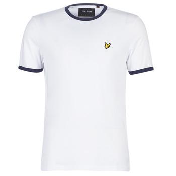 Abbigliamento Uomo T-shirt maniche corte Lyle & Scott TS705V-Z660 Bianco