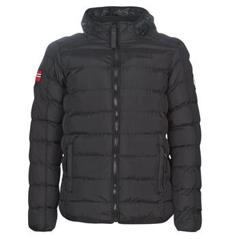 Abbigliamento Uomo Piumini Geographical Norway BALANCE-NOIR Nero
