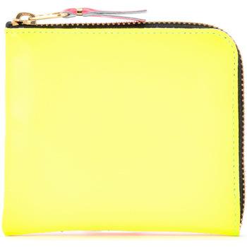 Borse Donna Portafogli Comme Des Garcons Portafoglio  in pelle gialla e Multicolore