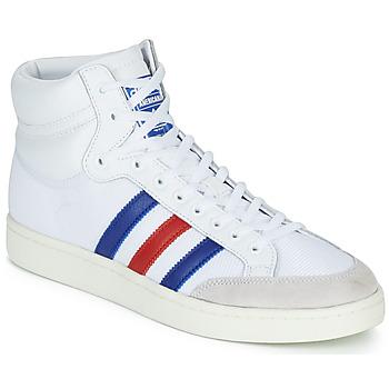 Scarpe Sneakers alte adidas Originals AMERICANA HI Bianco / Blu / Rosso