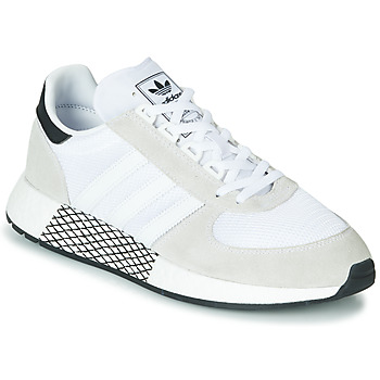 Scarpe Sneakers basse adidas Originals MARATHON TECH Bianco