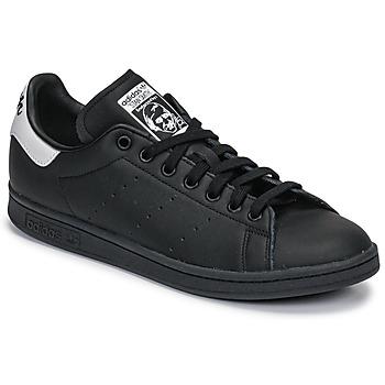 Scarpe Sneakers basse adidas Originals STAN SMITH Nero / Bianco