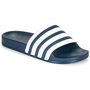Scarpe ciabatte adidas Originals ADILETTE Blu / Bianco