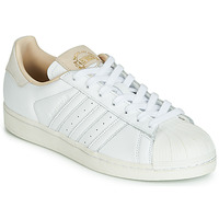 Scarpe Sneakers basse adidas Originals SUPERSTAR Bianco / Beige