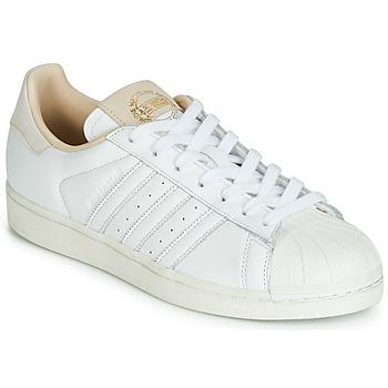 Scarpe Sneakers basse adidas Originals SUPERSTAR Bianco / Beige