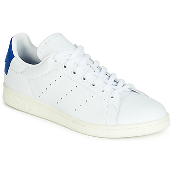 Scarpe Sneakers basse adidas Originals STAN SMITH Bianco / Blu / Carré
