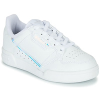 Scarpe Unisex bambino Sneakers basse adidas Originals CONTINENTAL 80 C Bianco / Blu