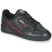 Scarpe Unisex bambino Sneakers basse adidas Originals CONTINENTAL 80 J Nero
