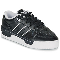 Scarpe Unisex bambino Sneakers basse adidas Originals RIVALRY LOW J Nero