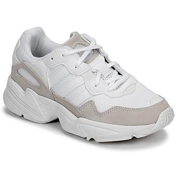 Scarpe Unisex bambino Sneakers basse adidas Originals YUNG-96 J Beige