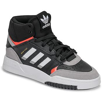 Scarpe Bambino Sneakers alte adidas Originals DROP STEP J Nero / Grigio