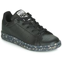 Scarpe Unisex bambino Sneakers basse adidas Originals STAN SMITH C Nero
