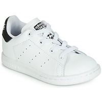 Scarpe Unisex bambino Sneakers basse adidas Originals STAN SMITH EL I Bianco / Nero