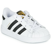 Scarpe Unisex bambino Sneakers basse adidas Originals SUPERSTAR I Bianco / Nero
